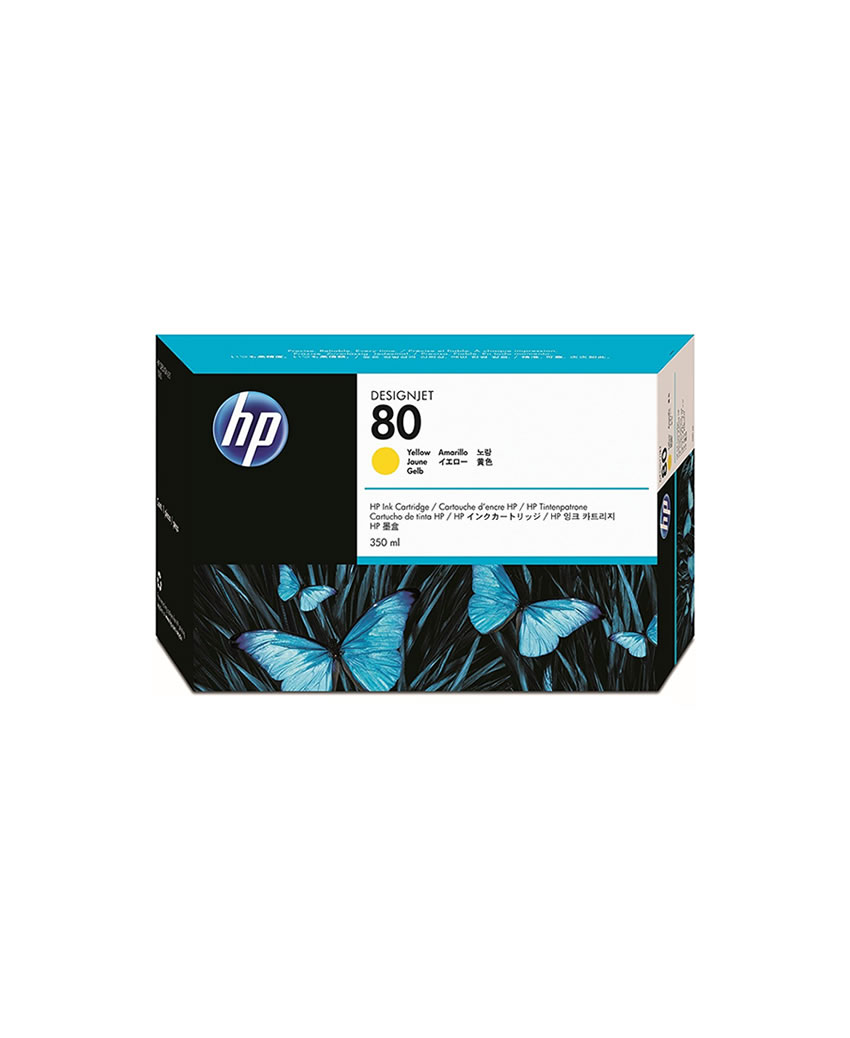 jual tinta hp 80 ink cartridge plotter original