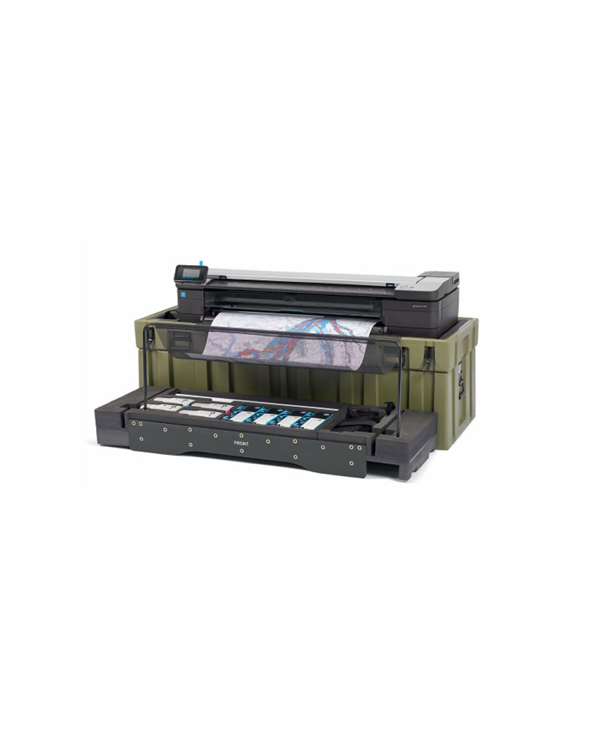 Hp Designjet T830mfp With Armour Case Plotter T520 24 Inch Harga Jual T830